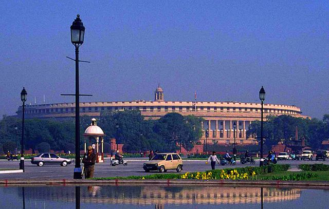 New Delhi the Capital of India_SansadBhavan