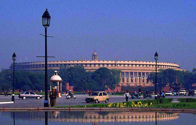 New Delhi the Capital of India_SansadBhavan