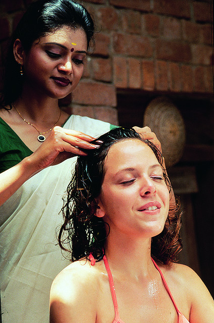 What is indian head massage