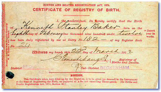 How to obtain a copy of birth certificate - Registry office of births marriages and deaths ...