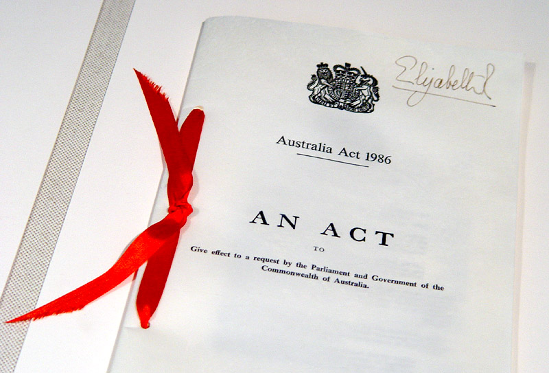 Why is Australia a Constitutional Monarchy