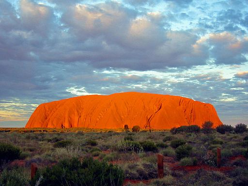 Why is Ayers Rock Famous
