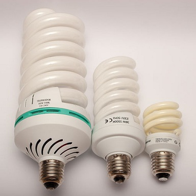 Difference Between Fluorescence  and Luminescence - Fluorescent_lamps