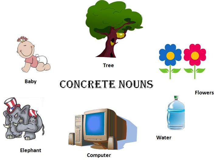 concrete nouns