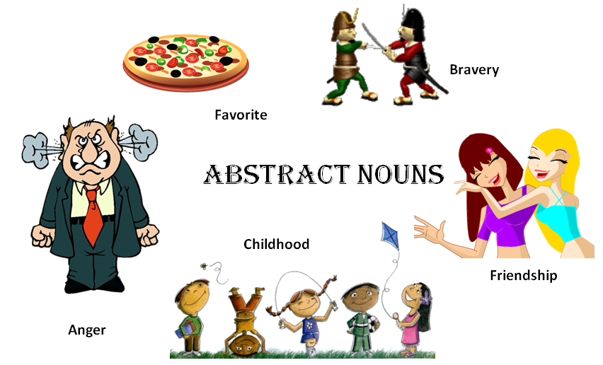 Abstract+Nouns Examples Of Abstract Nouns Difference between concrete ...