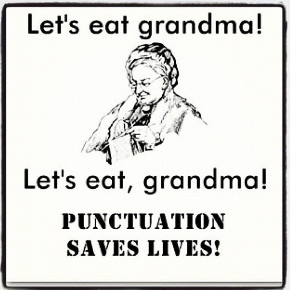 Main Difference - Grammar vs Punctuation