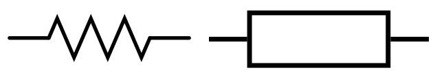 proteus how to change resistor to american symbol