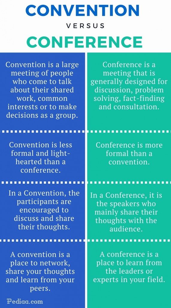 Convention and Conference