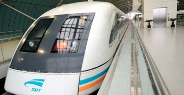 Difference Between Electrostatic and Electromagnetic Force - Maglev_train