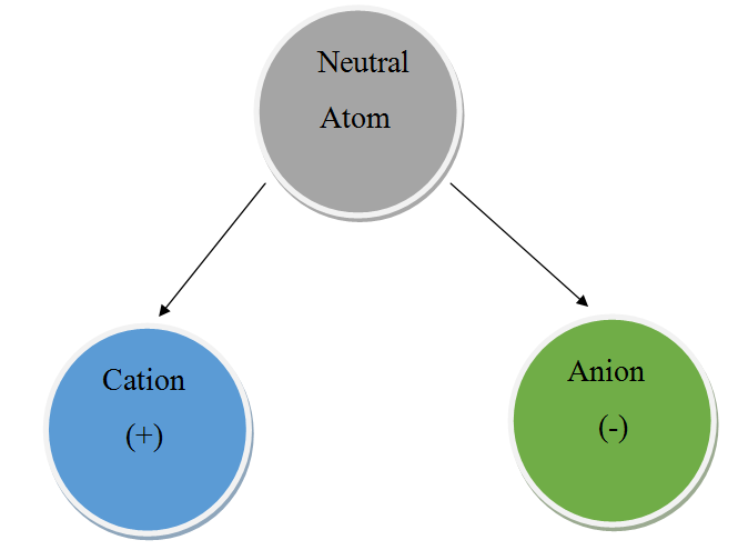 Main Difference - Cation vs  Anion