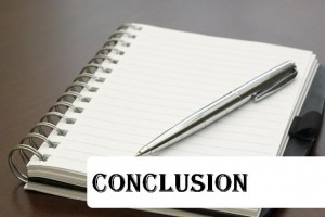 Main Difference - Summary vs Conclusion