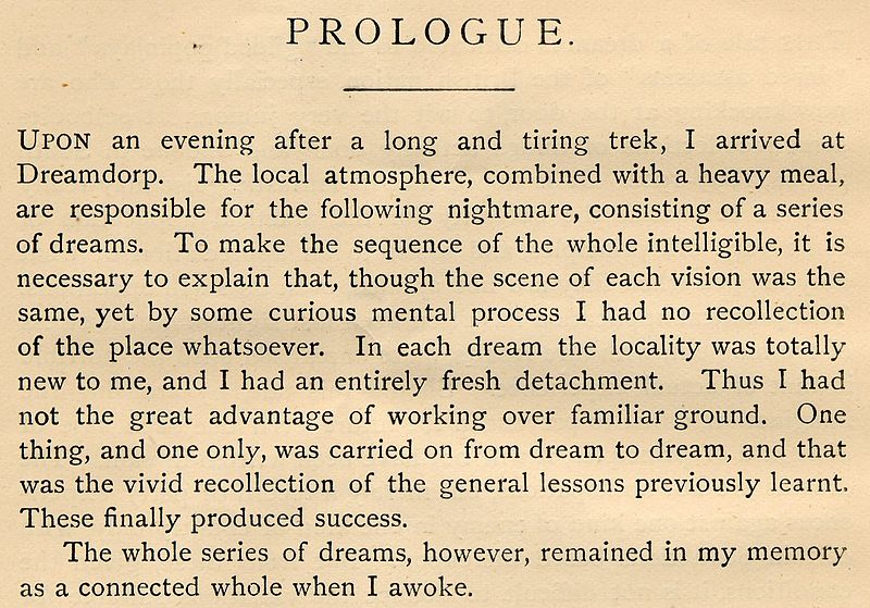 the significance of prologue to the tale A summary of general prologue: before continuing the tale, the narrator declares his intent to list and describe each of the members of the group analysis.