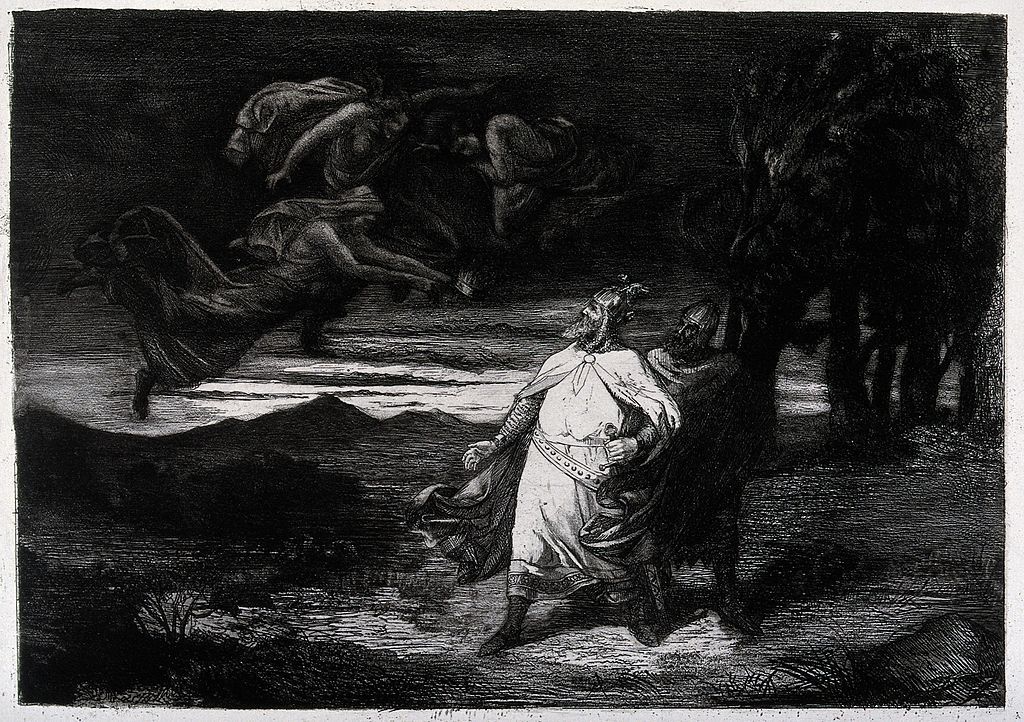 "the victorious banquo of shakespeares macbeth Macbeth and banquo enter with ross and angus is immediately complicated by macbeth's obvious fixation upon the witches' prophecy "" shakespeare has the witches speak in language of contradiction."
