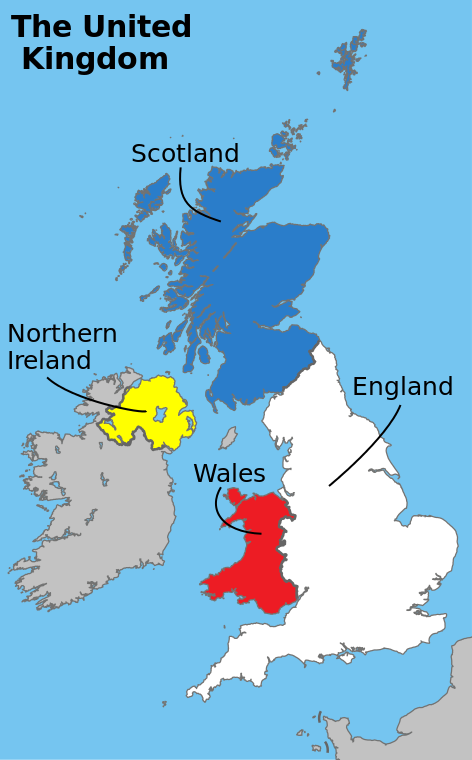 Difference Between Great Britain and United Kingdom