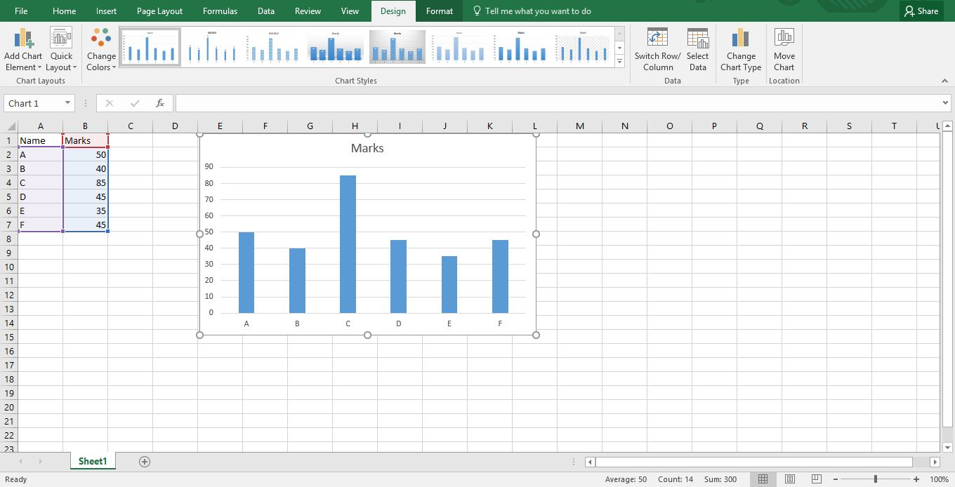 How to Plot Graph in Excel -11
