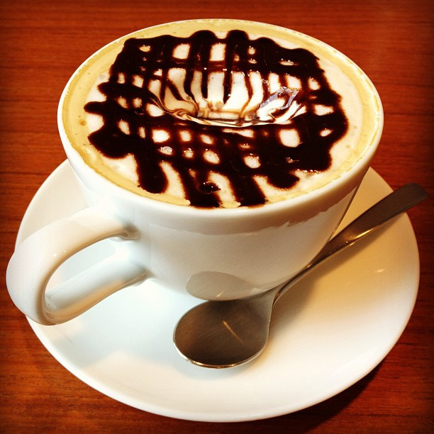 What are the Different Types of Coffee - Caffè Mocha