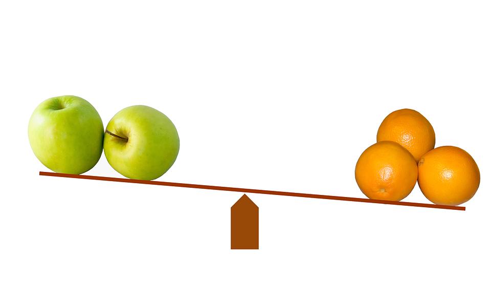Main Difference - Compare vs Contrast