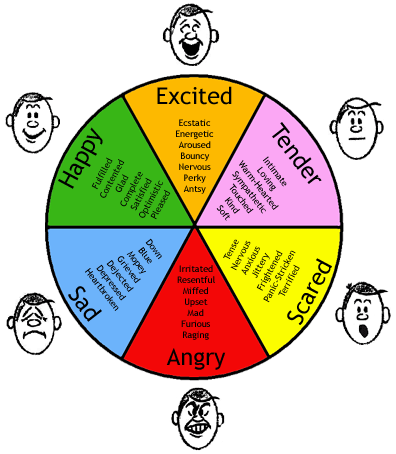 Main Difference - Emotions vs Feelings