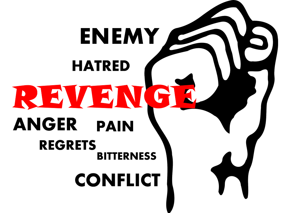 difference between justice and revenge definition
