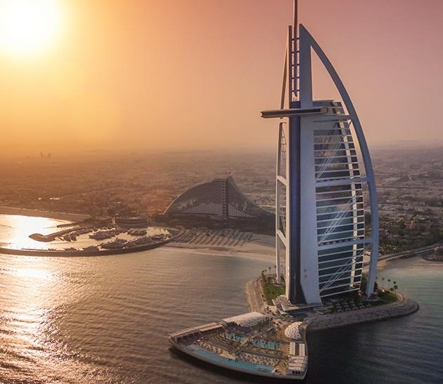 How many 7 star hotels are there in the world burj al for The seven star hotel in dubai