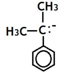 Difference Between Carbocation and Carbanion_Tertiary Carbanion