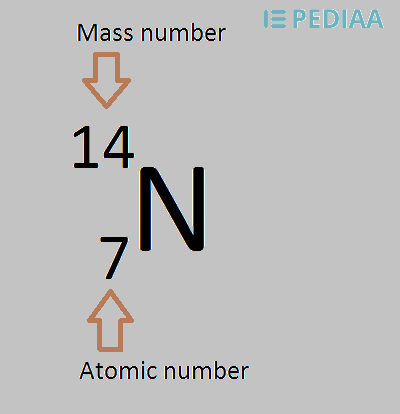 Difference Between Atomic Number and Mass Number
