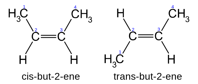 Difference Between Configurational and Conformational Isomers_Figure 1