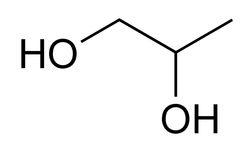 Difference Between Propylene Glycol and Glycerin_Figure 1