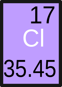 Figure 2: Atomic Weight of Chlorine