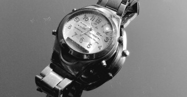 Figure 1: A wristwatch made out of stainless steel. Stainless steel is a good example of an alloy steel.