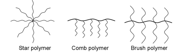 Main Difference - Branched Polymer vs Linear Polymer