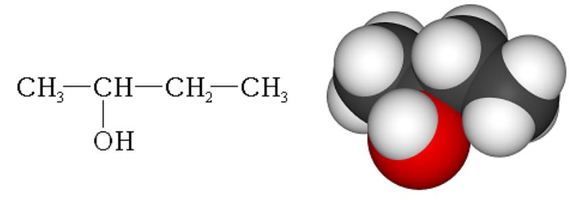 Difference Between 1 Butanol and 2 Butanol