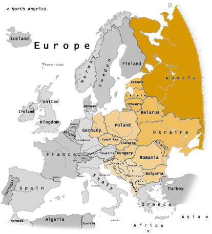 Difference Between Western and Eastern Europe – Pediaa.Com