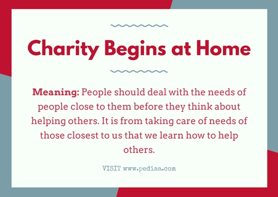 What Does Charity Begins at Home Mean_Infographic