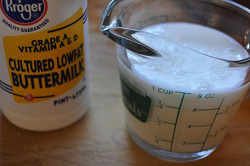 Main Difference - Buttermilk vs Milk