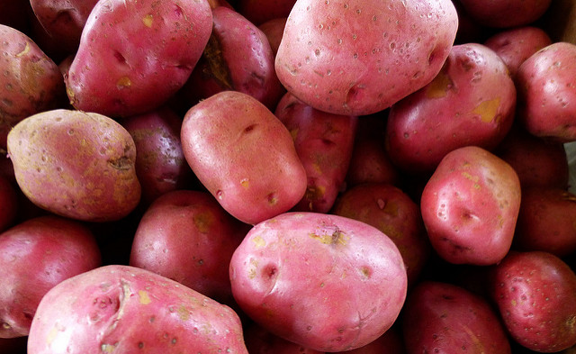 Difference Between Red and White Potatoes - Pediaa Com