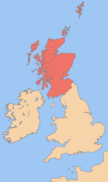 Main Difference - Scotland vs Ireland