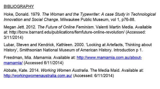 Main Difference - Bibliography vs Works Cited