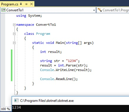 What is the Difference Between int Parse and Convert ToInt32 in C#_Figure 1