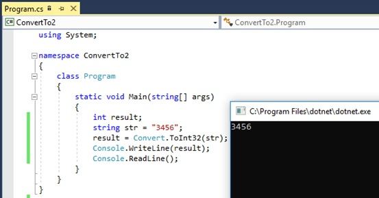 What is the Difference Between int Parse and Convert ToInt32 in C#_Figure 5