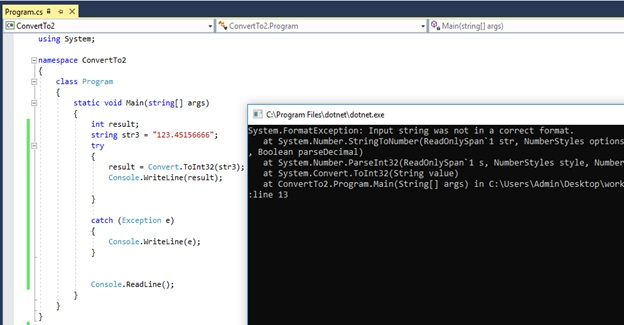 What is the Difference Between int Parse and Convert ToInt32 in C#_Figure 7