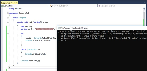 What is the Difference Between int Parse and Convert ToInt32 in C#_Figure 8
