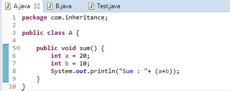 Difference Between Inheritance and Polymorphism in Java_Figure 1