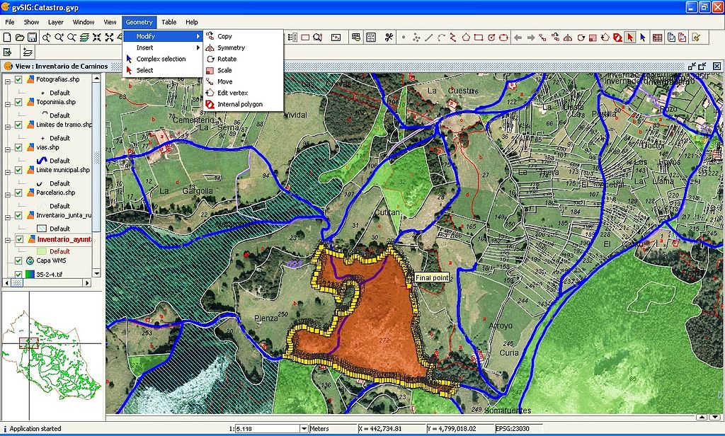 Difference Between Attribute Data and Spatial Data