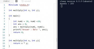 Difference Between Function Declaration and Function Definition in C Programming