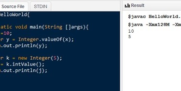 Main Difference - int vs Interger in Java
