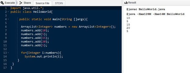 Main Difference - Array vs ArrayList