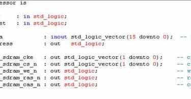 Difference Between Simulation and Synthesis in VHDL