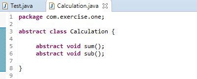 Abstract Class vs Final Class in Java